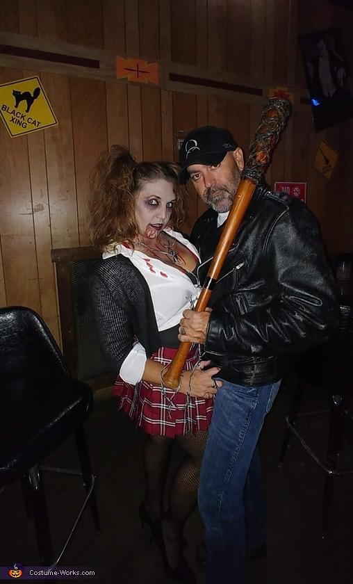 Walking Dead Negan and Walker  Costume