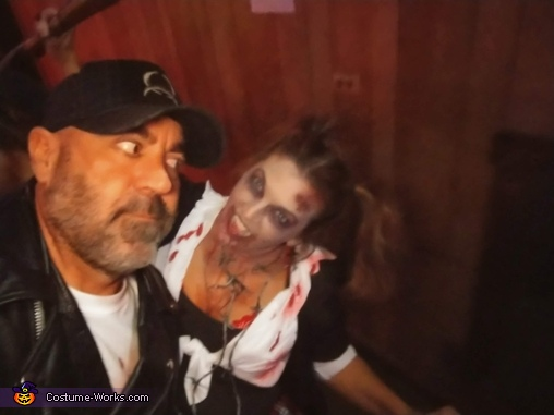 Walking Dead Negan and Walker Homemade Costume