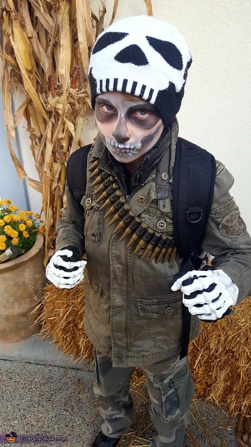 Walking Dead Soldier Costume