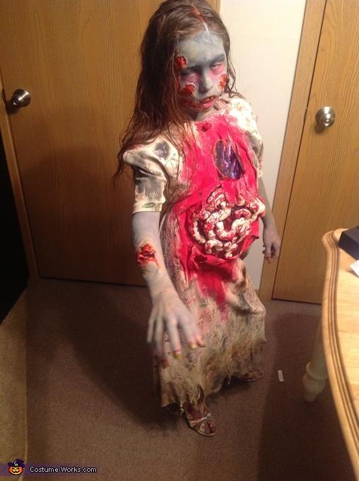 Zombie child, Walking Dead Zombie Costume