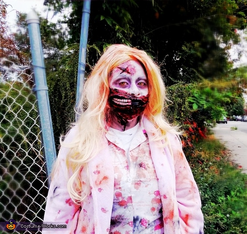 Walking Dead Zombie Girl Costume