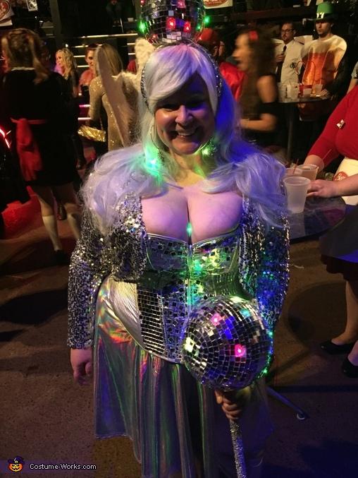 Walking Disco Queen Homemade Costume