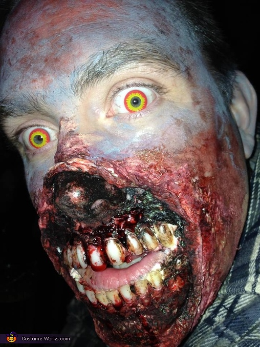 Exposed Mouth Walker Costume