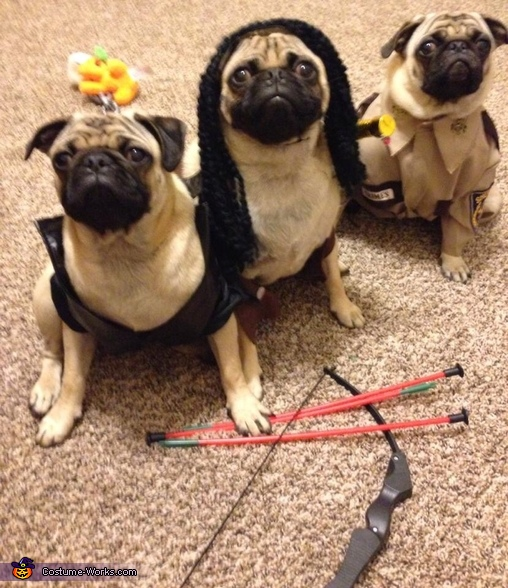 Walking Pugs Costume