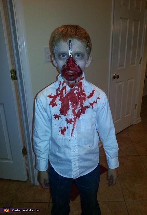 Walking Zombie Costume