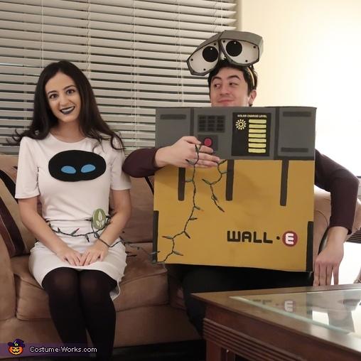 Wall-E and Eve Costume