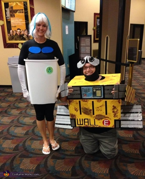 Wall-E and Eve Couple's Costume