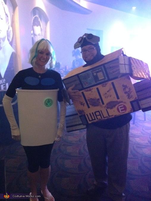 Wall-E and Eve Homemade Costume