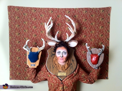 Wall of Taxidermy, Wall of Taxidermy Costume