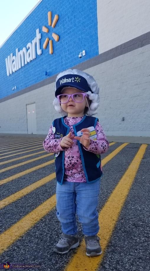 Walmart Greeter Costume
