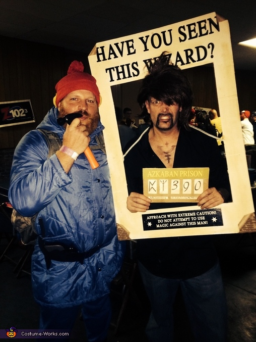 Here in the land of Misfits.... It's Sirius and Yukon Cornelius!!!!, Wanted: Sirius Black Costume