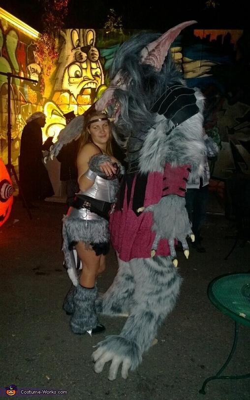 War Wolf Costume