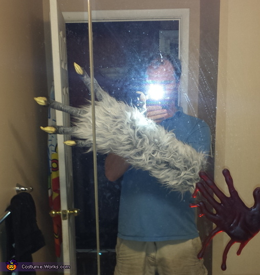 War-Wolf Homemade Costume