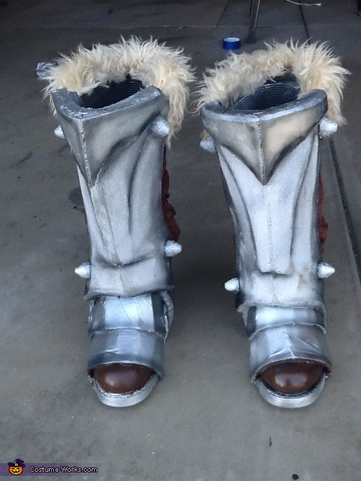 boots, War from Darksiders Costume