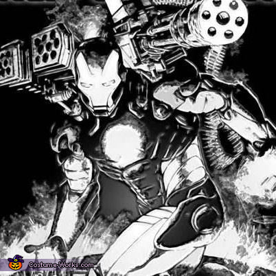This is the War Machine character which it is to resemble, War Machine Costume