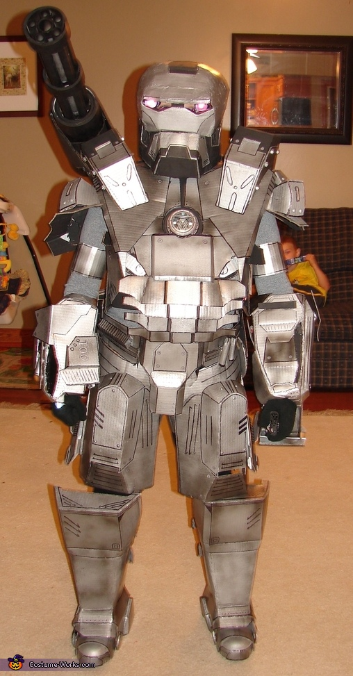 War Machine Ironman Costume