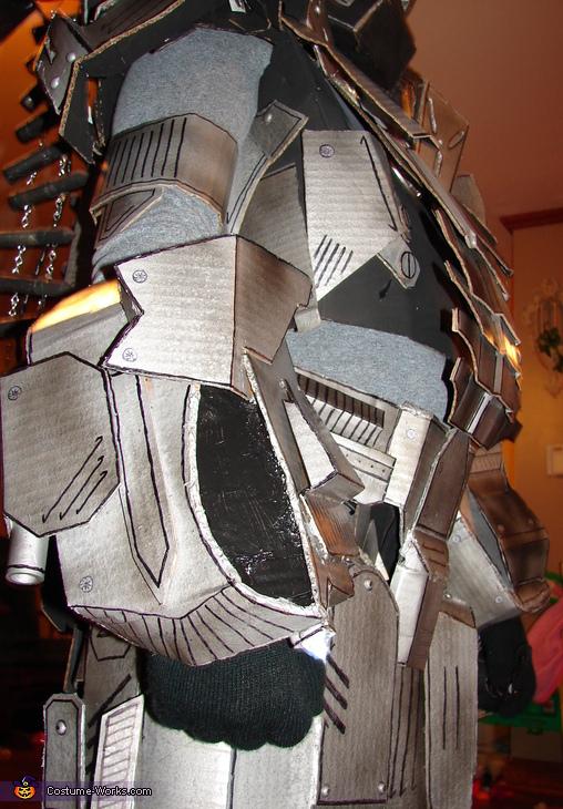Side detail, War Machine Ironman Costume