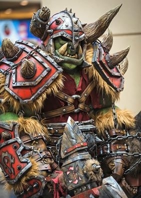 Warcraft Warsong Orc Homemade Costume