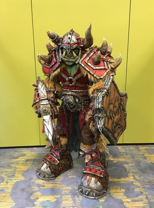 Warcraft Warsong Orc Costume