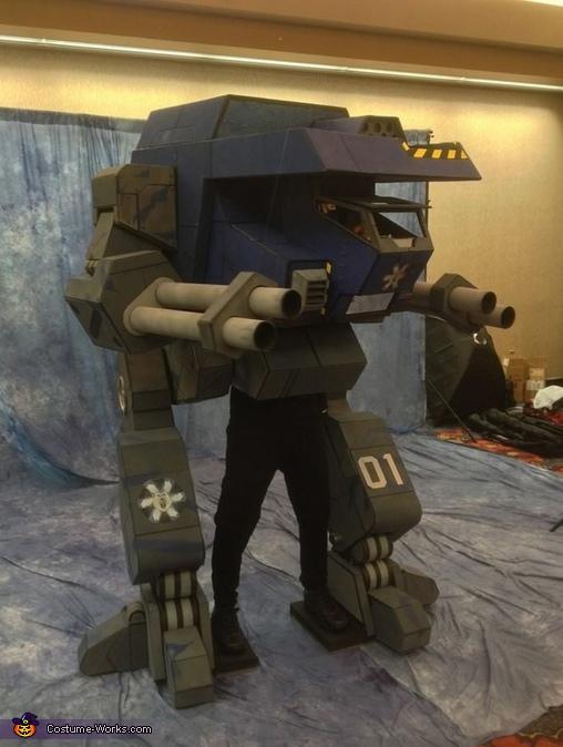 Warhawk Battlemech Costume