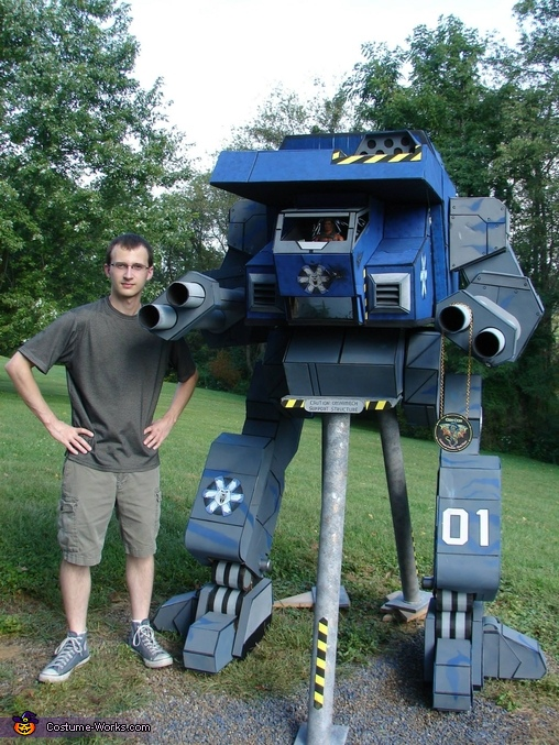 Warhawk Battlemech Homemade Costume