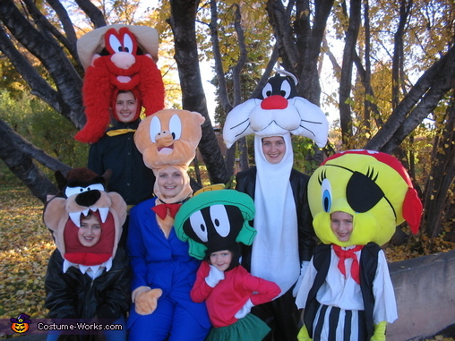 Warner Brothers Cartoon Characters, Warner Brothers Family Costume