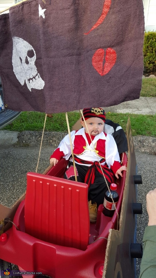 Warren the Pirate Homemade Costume