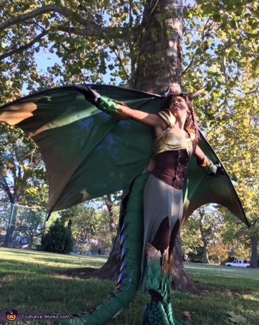 Warrior Dragoness Costume