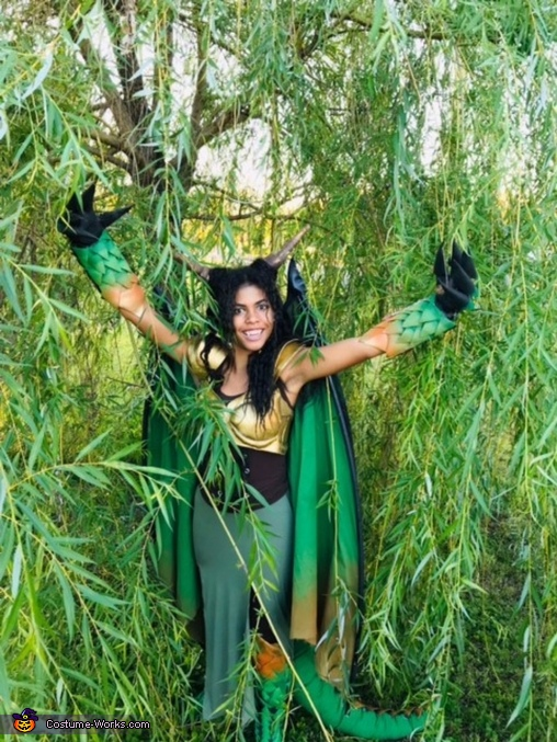 Warrior Dragoness Homemade Costume