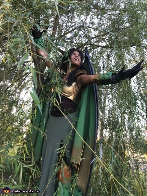 Warrior Dragoness Homemade Costume