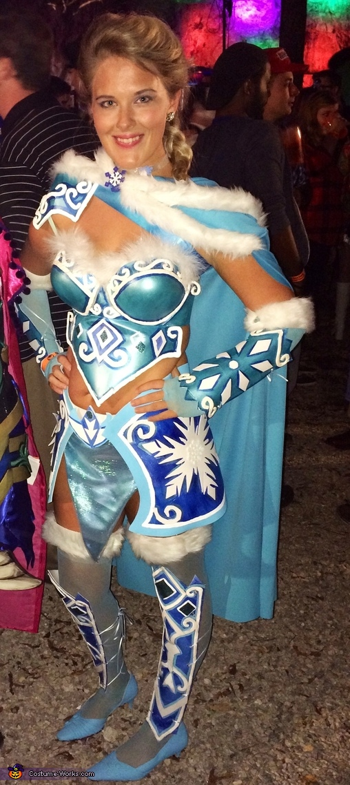 Warrior Elsa Costume