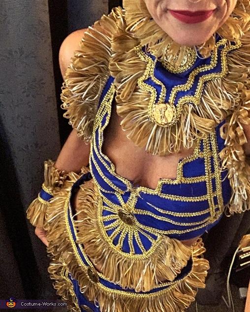 Warrior Princess Close Up, Warrior Princess Costume