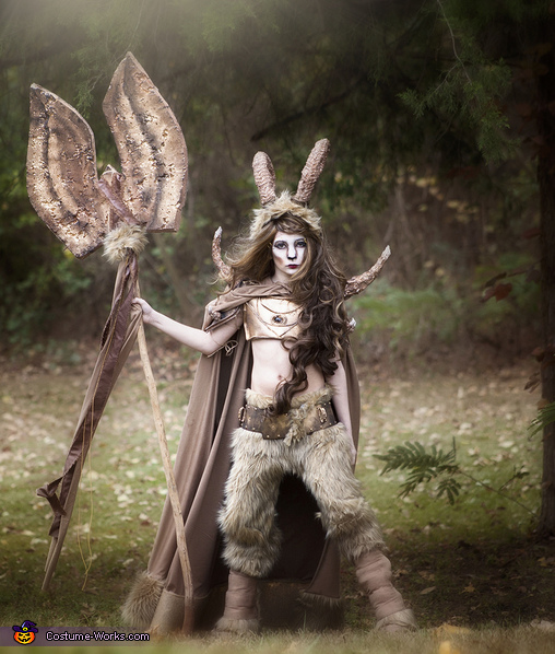 Warrior Satyr Costume