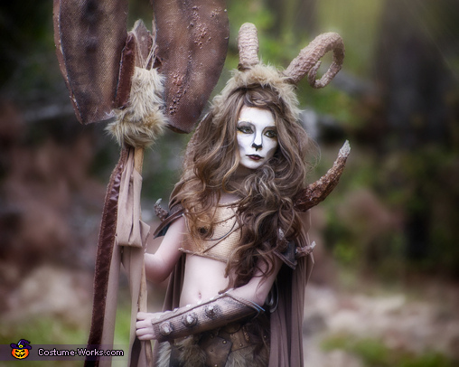 Close Up, Warrior Satyr Costume