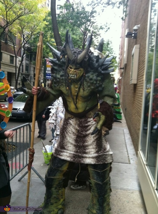 Warrior Troll - Homemade costumes for men