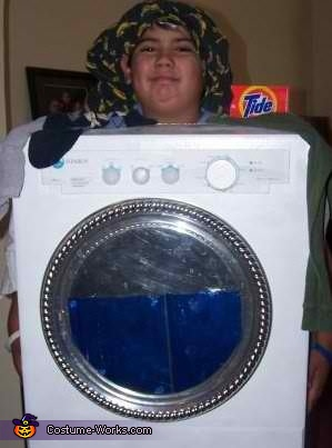 Washer Costume