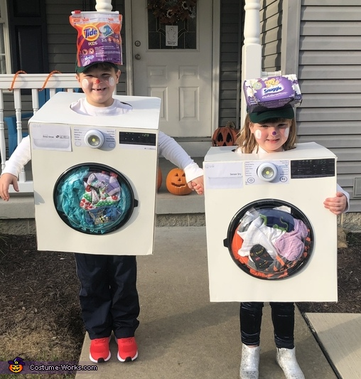 Too Cute Washer and Dryer Costume