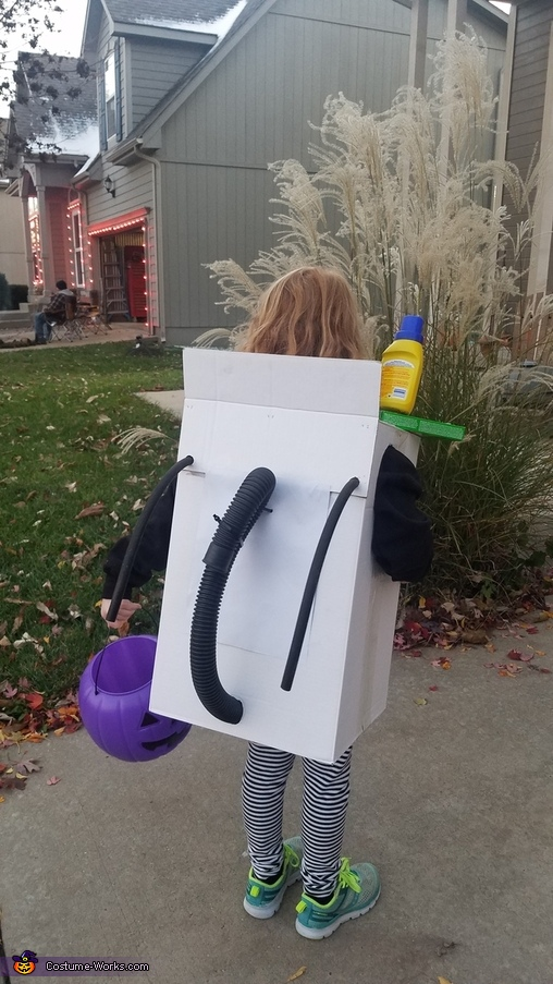 Washing Machine Homemade Costume