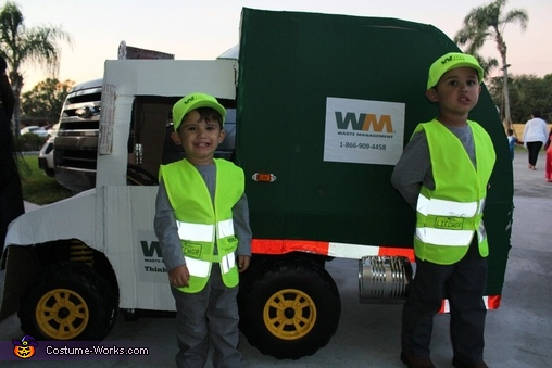 Waste Management Garbage Truck Costume