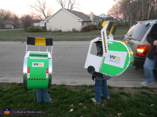 Waste Management Garbage Trucks Costume