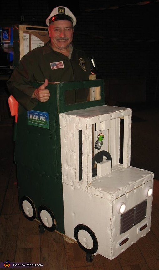 Waste Pro Garbage Truck Costume