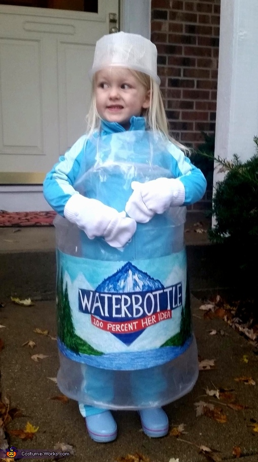 Water Bottle Costume