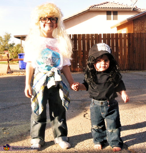 Wayne and Garth from Wayne's World Kids Costume
