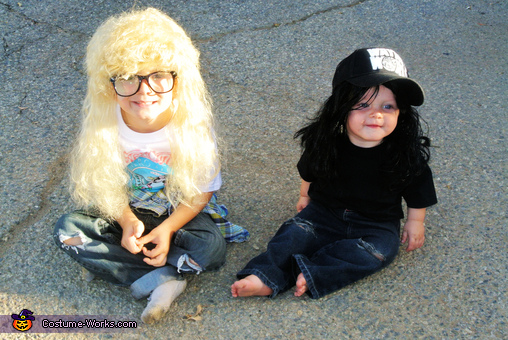 Wayne and Garth from Wayne's World Homemade Costume