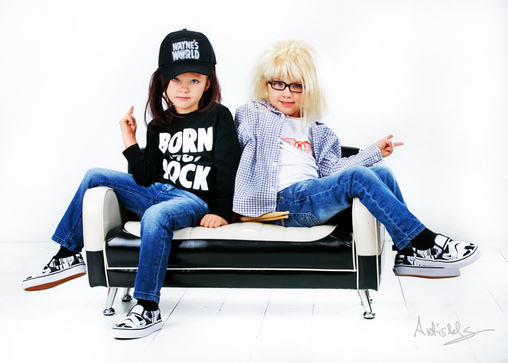 Wayne and Garth from Wayne's World Costume