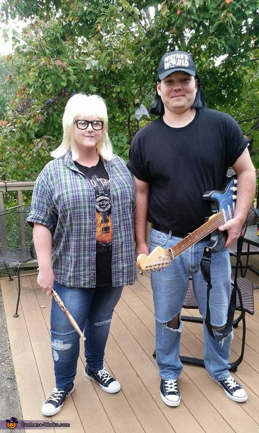 Wayne & Garth Homemade Costume