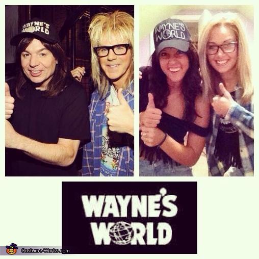 Wayne and Garth Collage, Wayne's World Costume