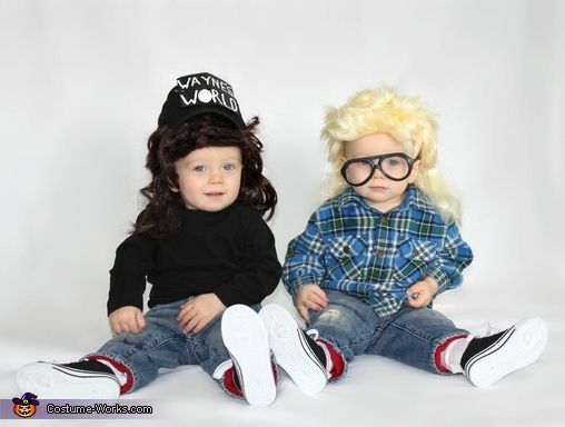 Wayne's World Baby Costume