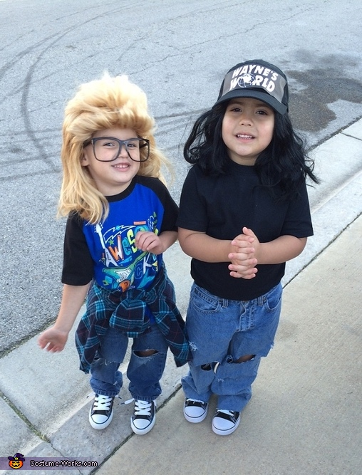 Wayne's World Wayne and Garth Costume
