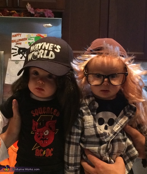 Wayne's World Wayne & Garth Twin Babies Costume